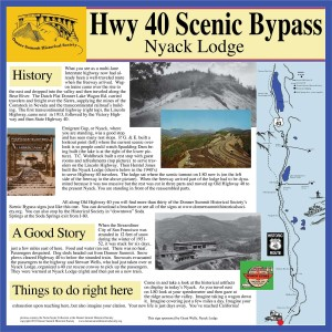 History of Highway 40 Placer County